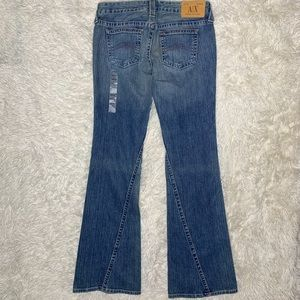 ARMANI EXCHANGE NWT Twisted Flare Leg Jeans